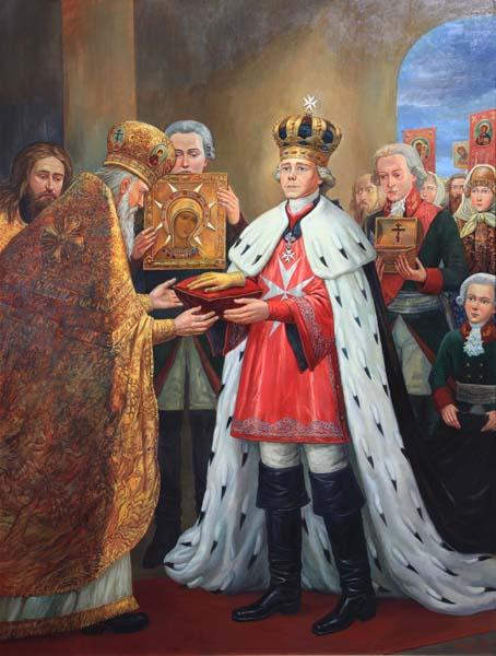 Картинки по запросу Император Павел Первый возлагает на А.В. Суворова знаки Ордена святого Иоанна Иерусалимского